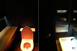 Restroom at Sampan