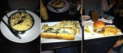 Entrees from Varga Bar visit
